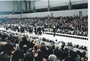 Chanel fashionshow